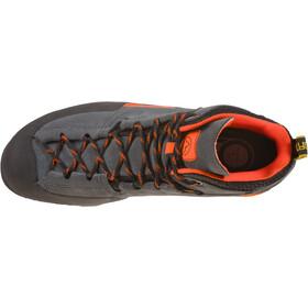 La Sportiva Boulder X Mid Kengät Miehet, carbon/flame